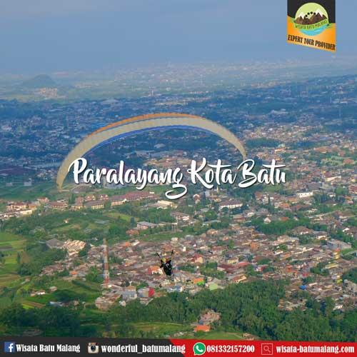 Paralayang Kota Batu Paket Wisata Batu Malang Bromo 081332157200