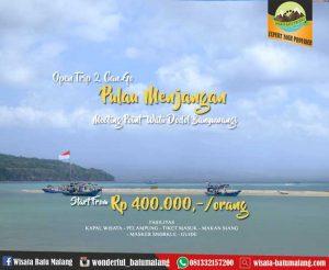 Open trip Pulau Menjangan