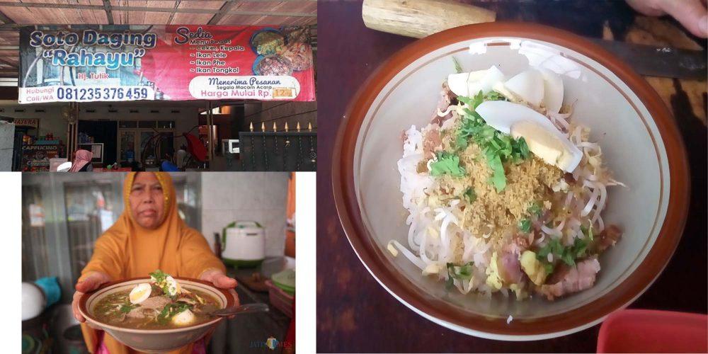 soto daging rahayu