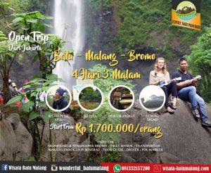 Open Trip Batu Malang Bromo dari Jakarta