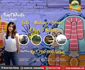 Paket Wisata Batu Malang Bromo dari Jakarta