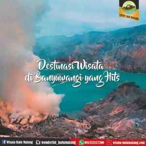 Destinasi Wisata Banyuwangi yang Hits di tahun 2020