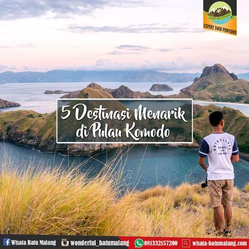 5 Destinasi Menarik Di Pulau Komodo Wisata Batumalang Com