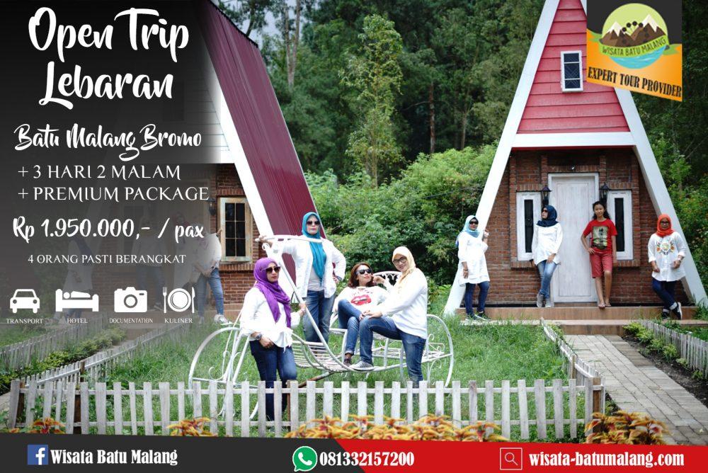 Open Trip Lebaran 2019 Batu Malang Bromo 3 hari 2 malam ...